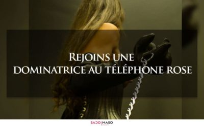 dominatrice au telephone