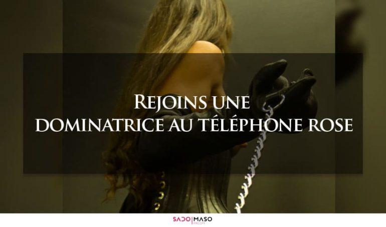 dominatrice au telephone