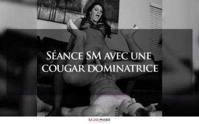 Séance SM avec une cougar dominatrice